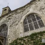 Vitraux de l'Église troglodytique de l'Annonciation à Haute-Isle