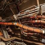 Circuits électriques et hydraulique du prototype Concorde 001 au musée du Bourget
