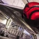 Coquilles mobiles des tuyères 28 des moteurs Olympus du Concorde SD
