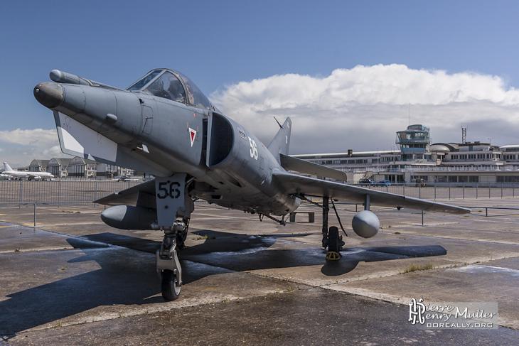 Dassault Etendard IVM au musée de l'Air et de l'Espace du Bourget à Paris