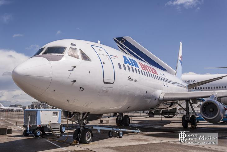 Dassault Mercure 100 Air Inter au musée du Bourget