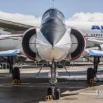 Mirage 4000 vue de face au musée de l'Air et de l'Espace du Bourget