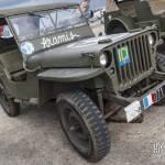 Jeep Willys M201 à l'inauguration du hall seconde guerre mondiale du Bourget