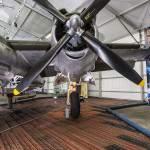 Nacelle moteur hélice et train d'atterrissage du B-26 Marauder