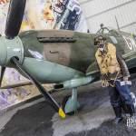 Supermarine Spitfire dit le cracheur de feu au Bourget