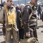 Tenues de pilotes d'avions de la seconde guerre mondiale