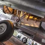 Train d'atterrissage babord du Martin B-26 Marauder