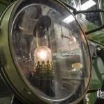 Détail de la lanterne avant d'une Sprague Thomson