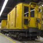 Motrice Sprague reconvertie en motrice de convoi de chantier du métro