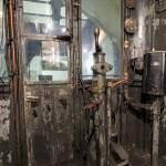 Première version des postes de conduite des métros Spragues Thomson