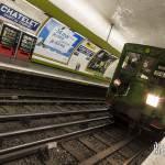 Sprague Thomson à la station Chatelet Pont au Change à Paris