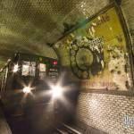 Station fantôme Saint Martin du métro de Paris