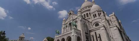 Butte Montmartre et basilique du Sacré Coeur