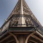 Etage supérieur du deuxième étage de la Tour Eiffel à Paris