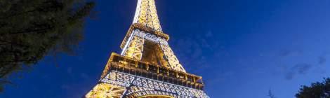 Tour Eiffel et Trocadéro à Paris