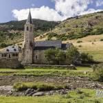 Ancien village de Montgarri dans les Pyrénées espagnoles