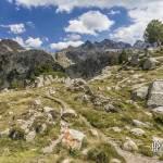 Chemin de randonnée dans les Pyrénées espagnoles