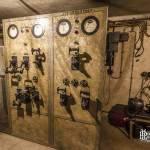 Armoires éléctriques du bunker de la gare de l'Est à Paris