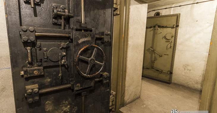 Bunker sous la Gare de l'Est à Paris