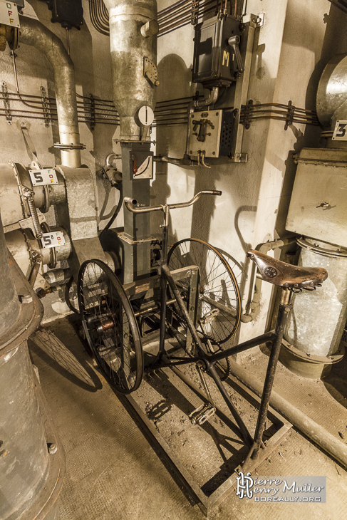 V lo g n rateur d 39 air et d 39 lectricit dans le bunker de for Generateur d electricite prix