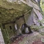 Reste des construction militaires de la caserne des poilus