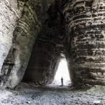 Cavage de la carrière Gagny Saint Pierre avec échelle humaine
