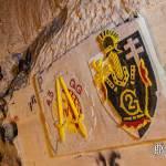 Insigne régimentaire du 2ème régiment du génie et du 45ème QG de l'Otan