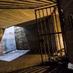 Puits de lumière dans le bunker de l'Otan