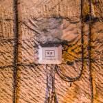 Répartiteur téléphonique étanche dans le bunker de l'Otan