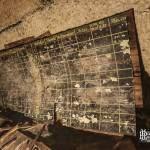 Tableau de l'infirmerie du bunker de l'Otan