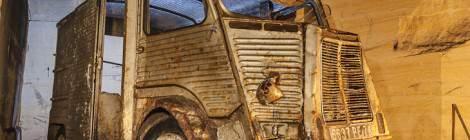 Citroën Tube abandonné dans la carrière de la patate.