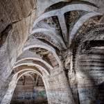 Arches de consolidation de la carrière Vaux Proverbes