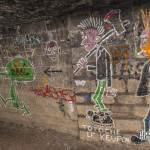 Galerie des promotions dans les catacombes de Paris