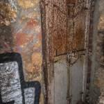 Porte blindée du bunker allemand du lycée Montaigne dans les catacombes de Paris