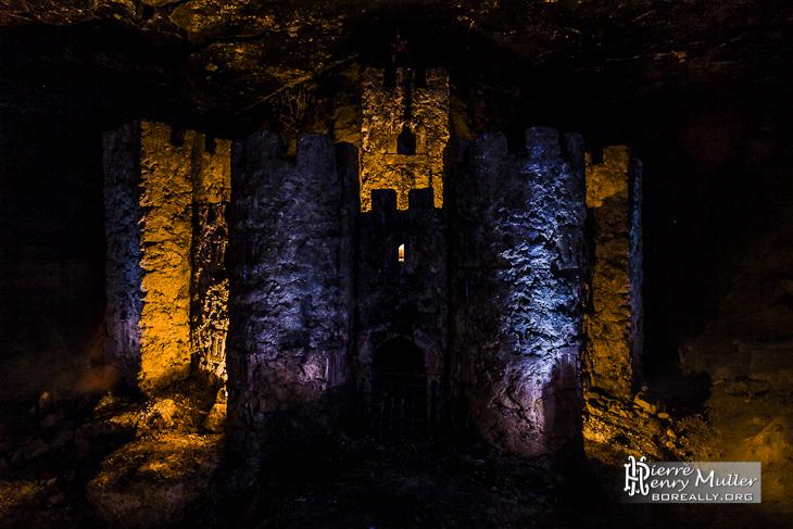 Squat du château dans les catacombes sous Paris