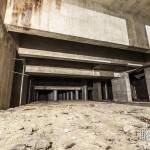 Cathédrale souterraine de la Défense pour l'accueil du métro