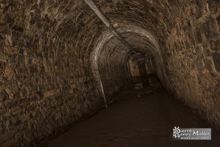 Galerie souterraine de la citadelle de Namur