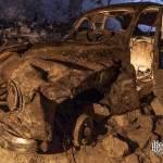 Peugeot 203 abandonnée dans la carrière Les Lions à Louveciennes