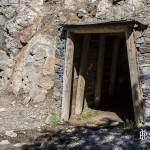 Entrée d'un filon d'une mine de zinc en Espagne