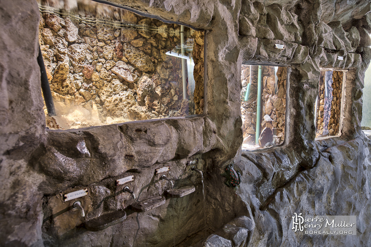 Aquarium à truites du Réservoir d'eau de Montsouris