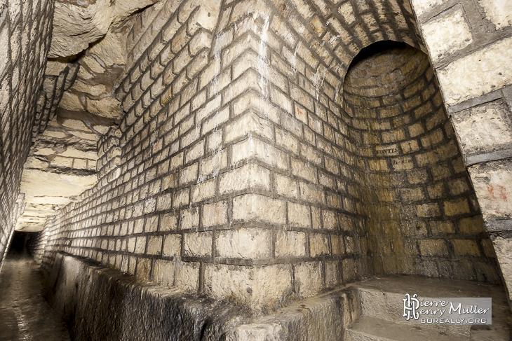 Consolidation d'un fontis sous le réservoir Montsouris