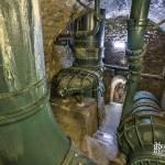 Réseau de canalisations du réservoir de Montsouris