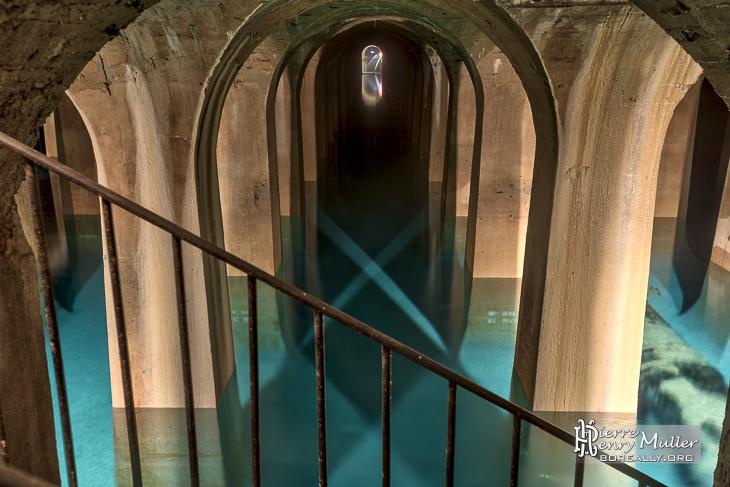 Réservoir d'eau de Paris de Montsouris