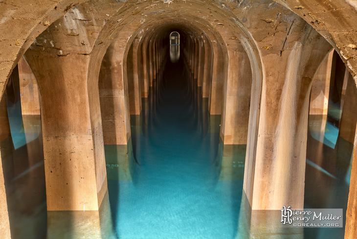 Réservoir de Montsouris à Paris