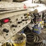 Convoyeur de remblais du tunnelier et ses outillages