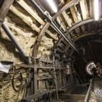 Galerie de recul pour l'assemblage du tunnelier
