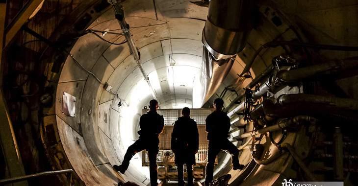 Enertherm tunnel technique centrale Noël Pons Alençon