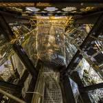 Intérieur de la flèche de la Cathédrale de Rouen