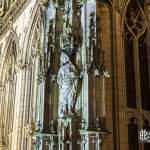 Statue et sculptures de la Tour de la Lanterne