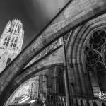Tour de Beurre et contreforts de la Cathédrale de Rouen